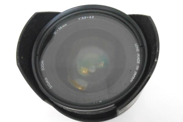 SIGMA ZOOM 25-35mm Lens with Lens Cover - Used Previously Owned