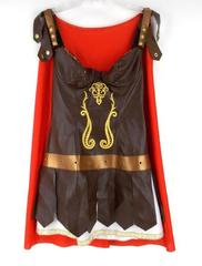 Gladiator Costume Amazon Warrior Princess Roman Soldier Sz LARGE by LEG AVENUE