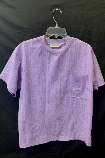 Large Scrub Shirt by Fashion Spirit- Purple Women's