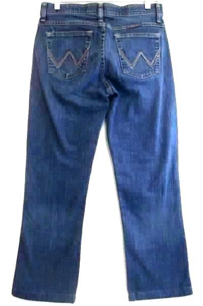 Q-Baby Women's Jeans (No Gap) Waistband In Blue Color Size 5/6 x 34
