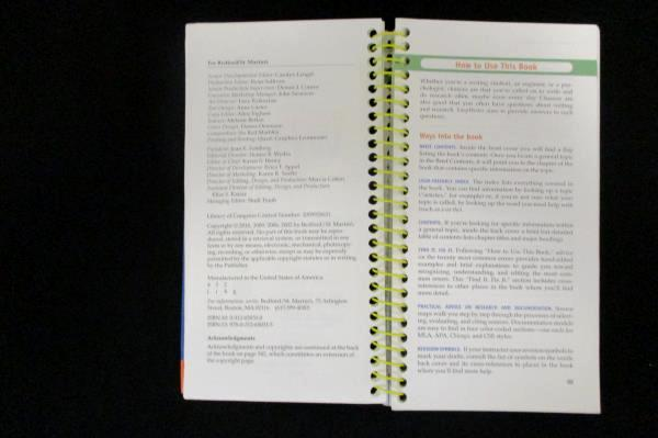 Easy Writer: A Pocket Reference, Fourth Edition by Andrea Lunsford, Spiral 2010