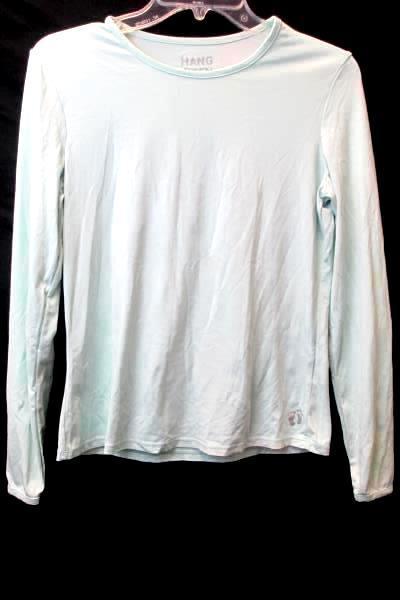 Long Sleeve Shirt by Hang Ten- Turquoise, Girls Size S