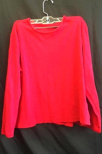 Long Sleeve Shirt by White Stag- Red, Woman's Size XL