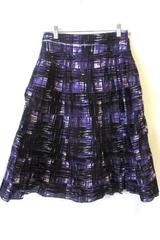 John Paul Richard Woman's Skirt Purple Size Small