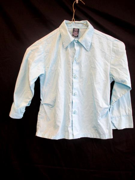 Nautica Children's Blue Button Up Shirt Size 6