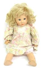"""Suzanne Gibson Reeves International 24"""" Vinyl Doll RARE Blonde Eyes Open & Close"""