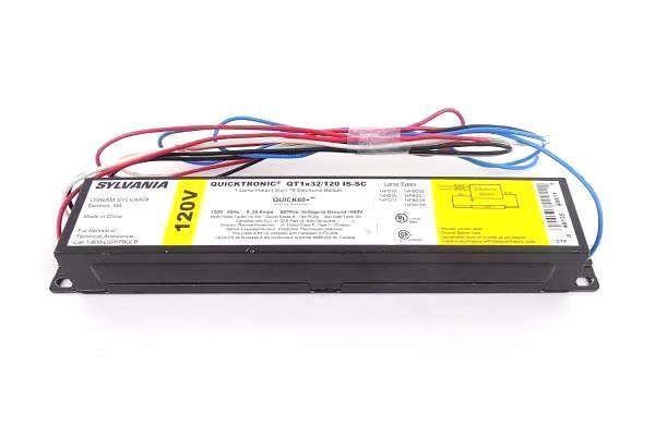 Sylvania Quicktronic QT1 1-Lamp Start T8 Electronic Ballast