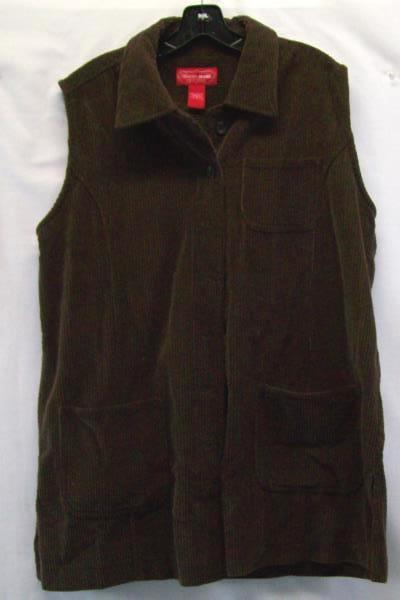 Venezia Jeans Worn To Perfection Women's Vest Size 16 Shorts Size 18