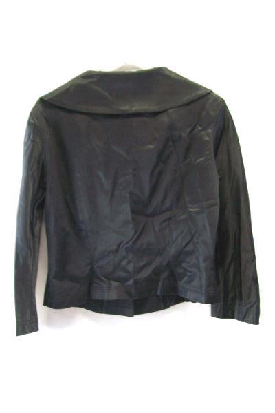 BEBE Women's Black Blazer Button Size 8 Work Office Formal