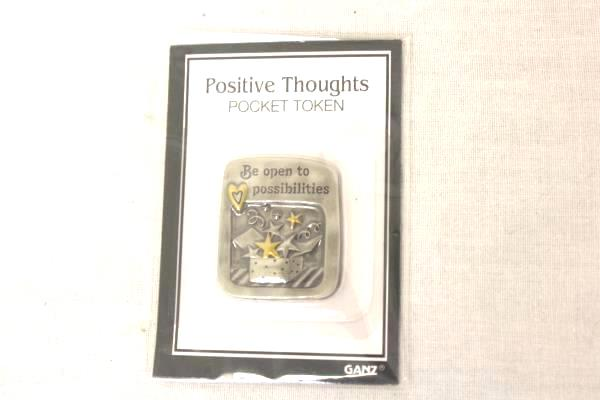 Lot of 37 Positive Thought Tokens Thoughts to Share HIS and HER Token