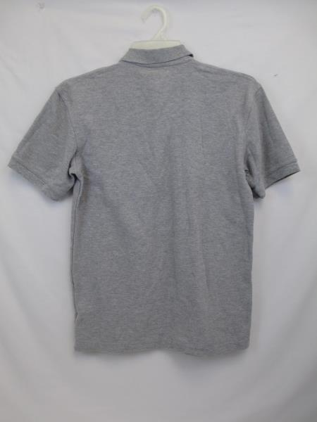 Men's Gray Grey Short Sleeved Polo Shirt by Dennis Size AM