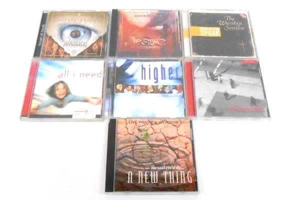 Lot of 7 Worship CDs Christian God Jesus Live CD Higher Harvest & More