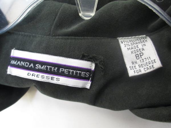 Amanda Smith Petites Women's Button Up Dress Jacket Dark Green Size 8P
