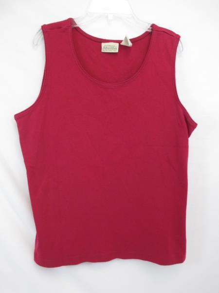 St John's Bay Pink Sleeveless Top Women's Size XL