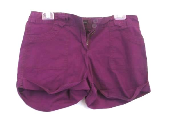 Shorts by New York & Company Purple Women's Size 4
