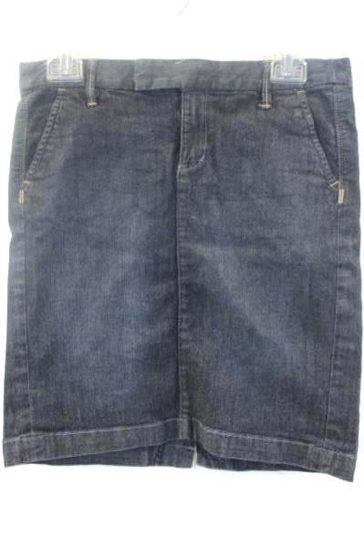 Women's Jean Skirt By Converse One Star Dark Denim Size 4