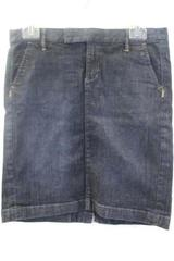 Women's Jean Skirt By Converse One Star Dark Denim Size 4