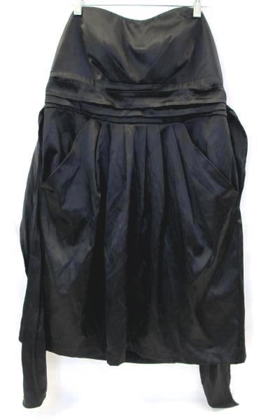 Women's Dress By Wishes Wishes Wishes Black String on Waist To Tie Size XL