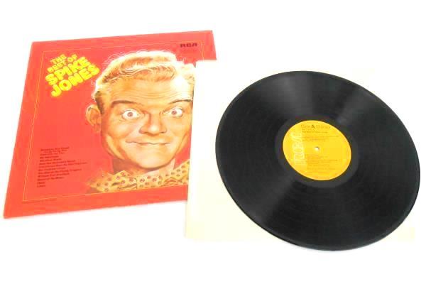 Spike Jones THE BEST OF SPIKE JONES/BEST OF VOLUME 2 2-LPs RCA Near Mint
