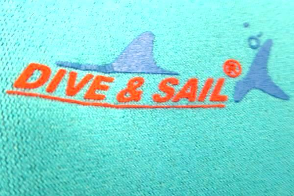 Kids Diving Suite By Dive & Sail Light Blue Yellow Zip Up Size XS