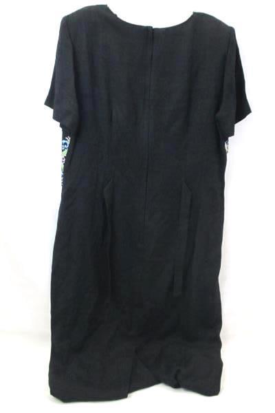 Long Dress By Sheri Martin Black Pink Blue Green Women's Size M