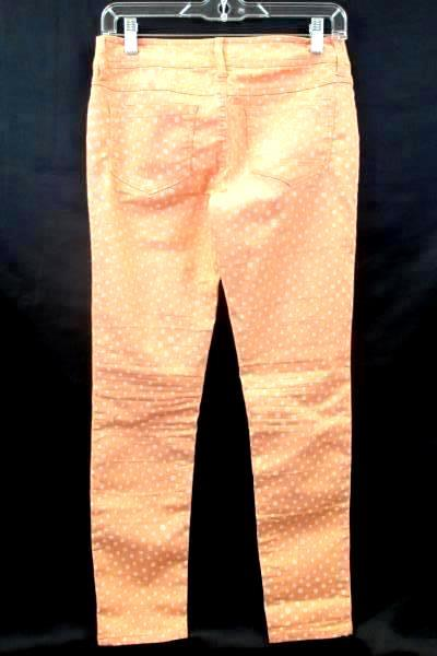 Women's Pants By So Lucky Salmon Pink w/ White Dots  Size 5