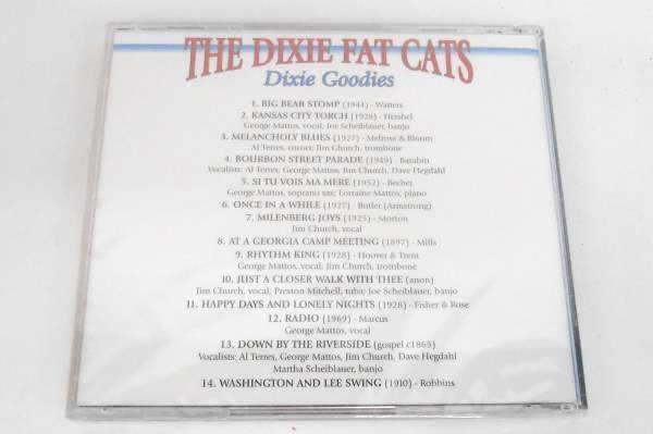 "The Dixie Fat Cats- Lot Of 2 CD's ""Trad & True"" & ""Dixie Goodies"""