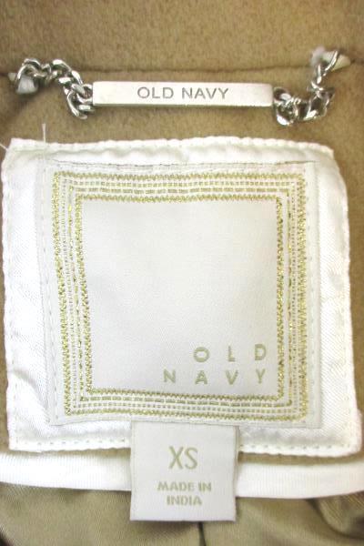 Old Navy Women's Cute Cropped Beige Wool Blend Peacoat Button Jacket Size XS