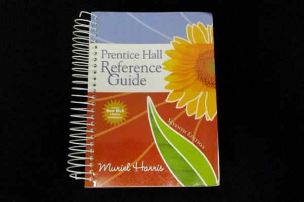 Prentice Hall Reference Guide 7th Edition Muriel Harris Spiral Bound 2008