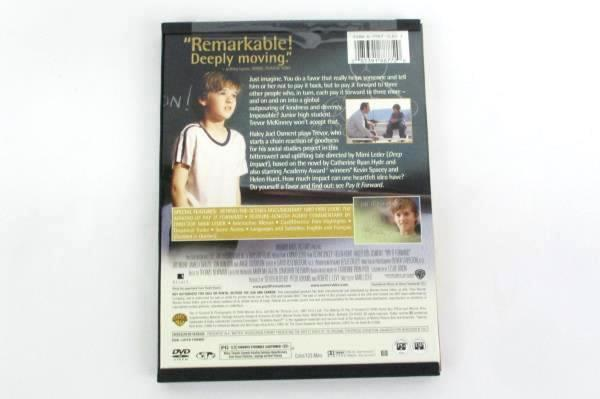 Pay It Forward 2001 DVD Widescreen Kevin Spacey, Helen Hunt