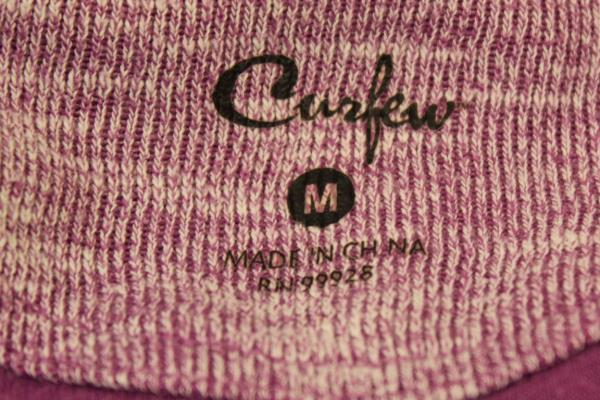 Zip Up by Curfew Purple w/ White Women's Size M