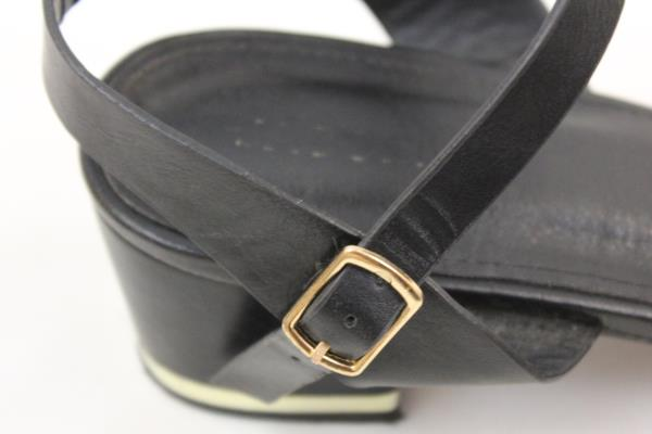 """Jacobies Women's Upperclass 2"""" High Heel Ankle Strap Black Size 10"""