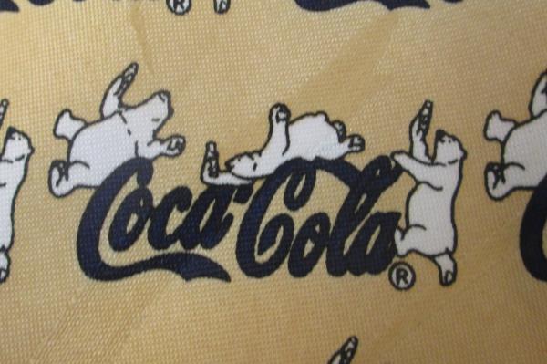 Men's Casual Tie By Coca Cola Gold w/ Polar Bears