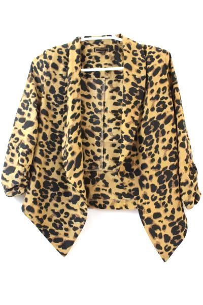 Women's Lot of 2 Waist Jacket & Blouse By Express & Pearl Blue & Cheetah Size S