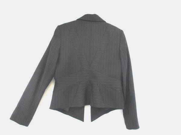 Ellen Tracy Women's Black Pinstripe Blazer Size 8