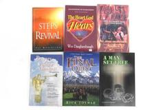 Lot of 6 Religious Christian Paperback Books Inspirational Self Help