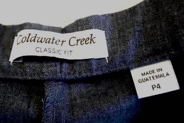 Grey Gray Dress Pants by Coldwater Creek Women's Size P4