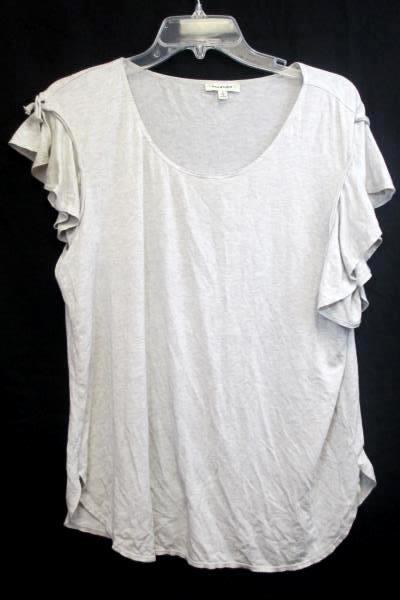 Lot of 2 Women's Blouses By Max Studio & Stylist Orange Grey Gray Size Large