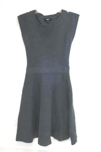 Mossimo- Solid Dark Grey Cable Knit Women's Dress Size Small