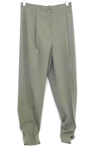 Valerie Stevens Dress Pants Green Pleaded Women's Size 2P