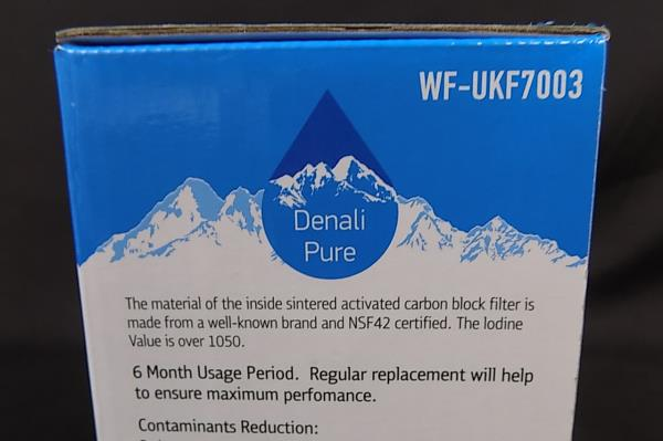 Denali Pure Replacement Water Filter WK-UKF7003