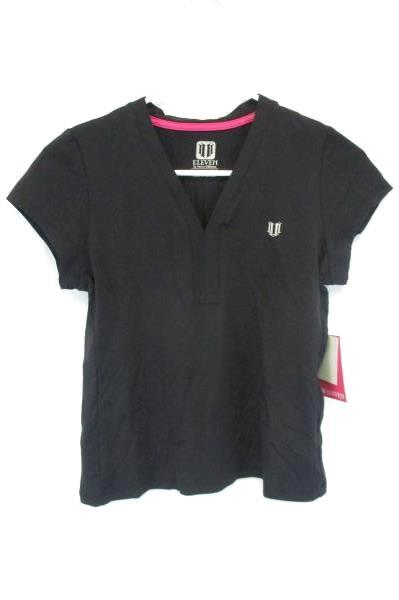 Venus Williams Eleven Black T-Shirt Women's Size XS *With Tag* Short Sleeve