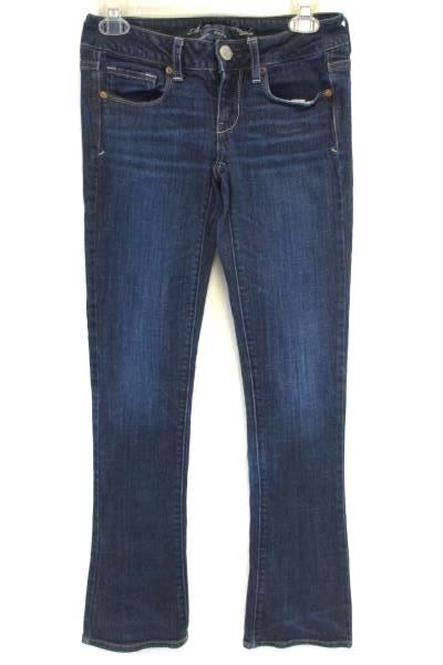 American Eagle Outfitters Skinny Kick Denim Stretch Jeans Women's Size 2