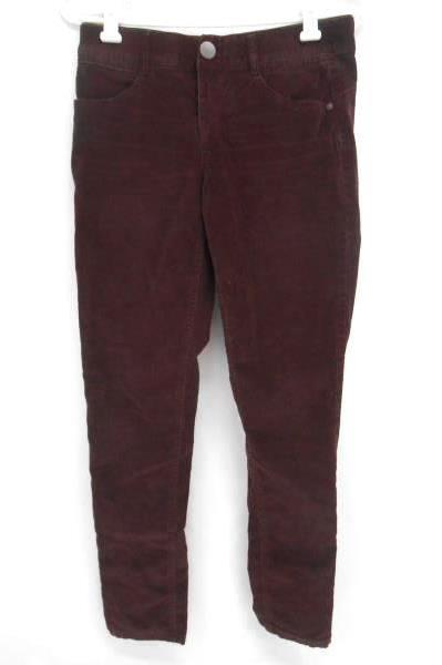 Women's MAURICES JEANS Skinny Jeggings Purple Corduroy Size 5/6