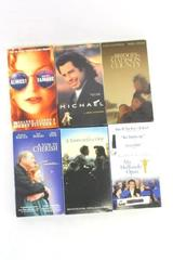 Lot of 6 Drama VHS Movies Michael Almost Famous Mr Holland's Opus Vow to Cherish