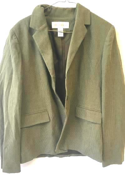 Suit Jacket by Jones New York- Green, Women's Size 10