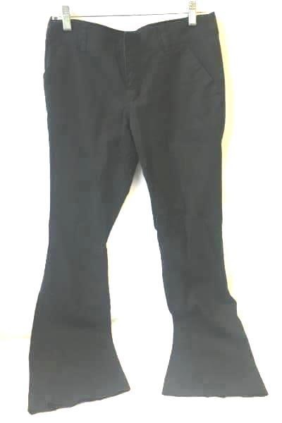 Pants by Mossimo Black Flare  98% Cotton  Woman's Size 9 Fit 6