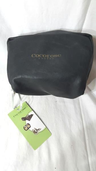 Cocorose London Black Slip On Fold Ballet Pumps Sz Petite M & Decorated Tote Bag