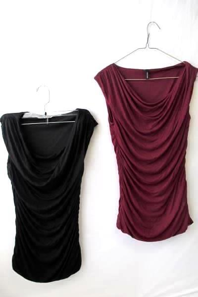 Maurice's Set of Blouses in Black and Red Size Women's Small