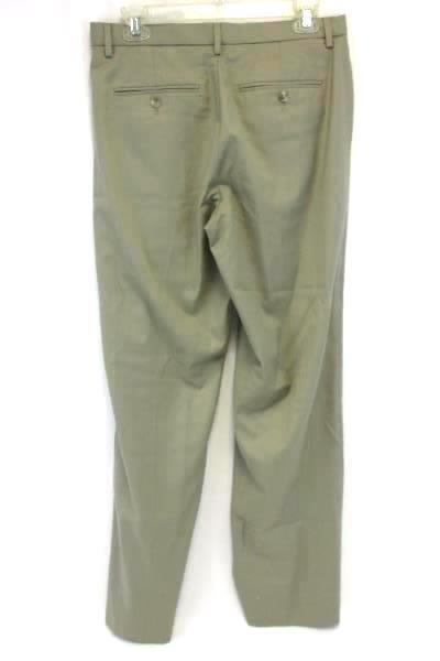 Men's Calvin Klein Trouser Slacks 30x32 Khaki Work Career Pants